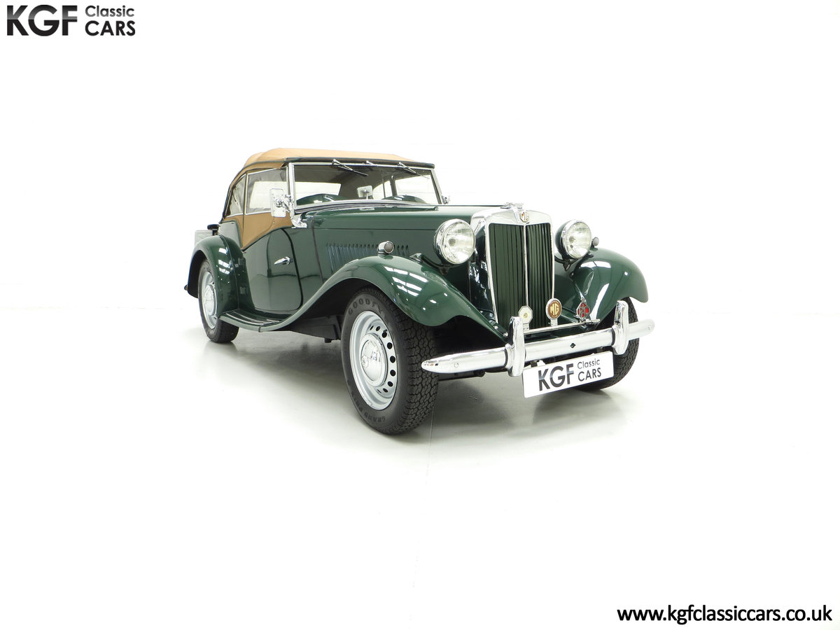 1953 A Classical MG TD Midget, RHD UK Home Market Car For Sale (picture 1 of 6)