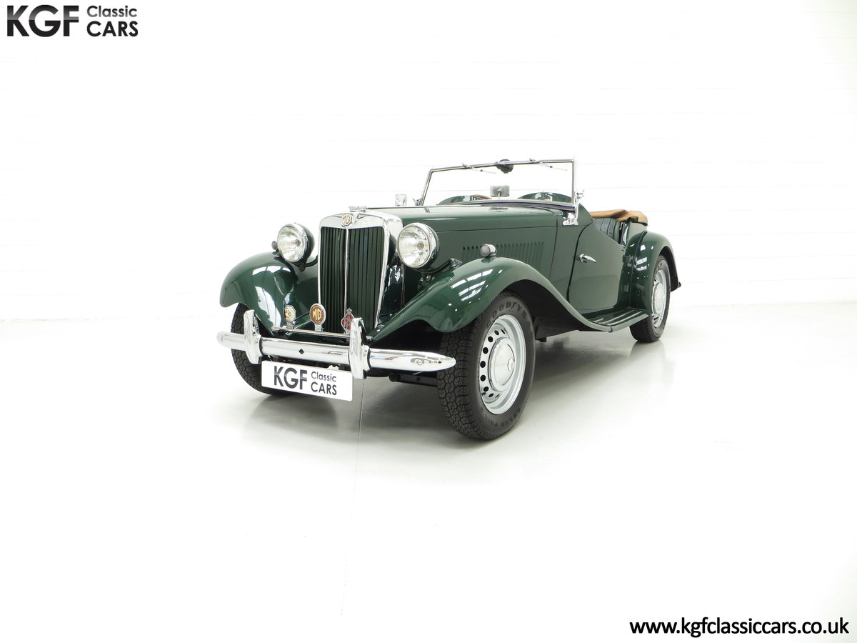 1953 A Classical MG TD Midget, RHD UK Home Market Car For Sale (picture 2 of 6)
