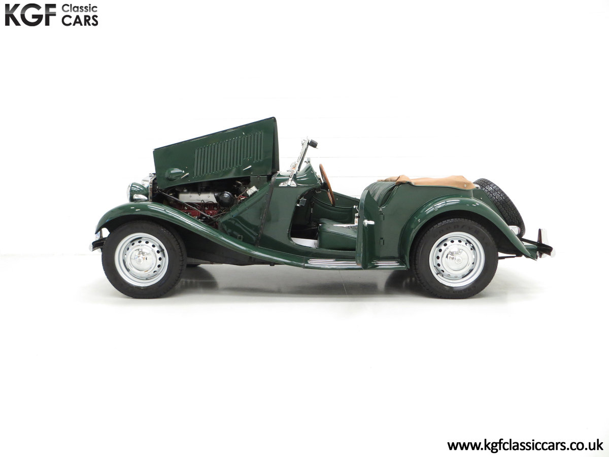 1953 A Classical MG TD Midget, RHD UK Home Market Car For Sale (picture 3 of 6)