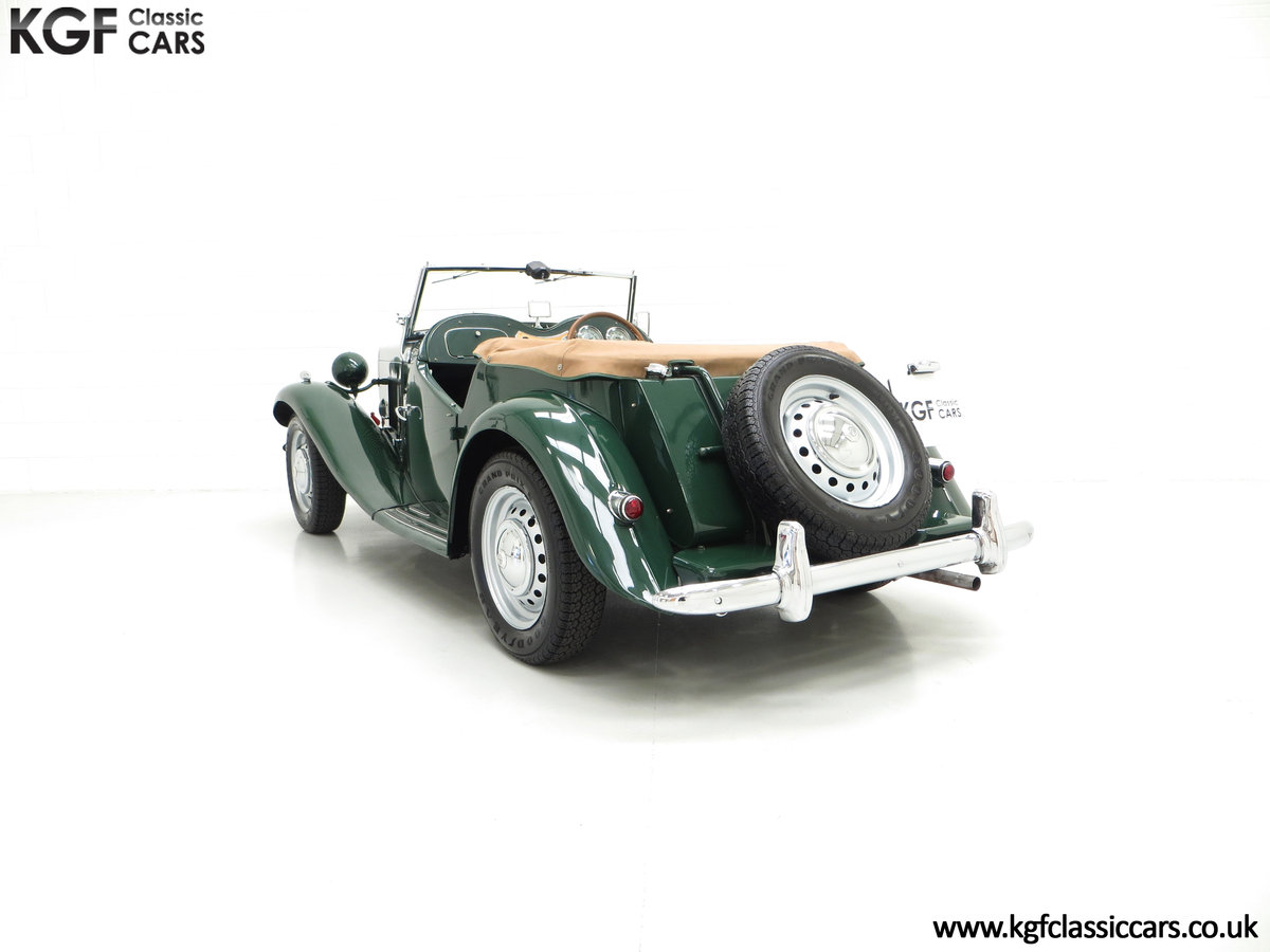 1953 A Classical MG TD Midget, RHD UK Home Market Car For Sale (picture 4 of 6)