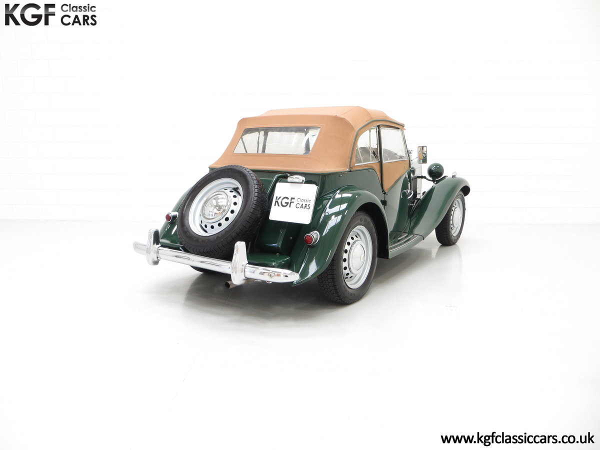 1953 A Classical MG TD Midget, RHD UK Home Market Car For Sale (picture 5 of 6)