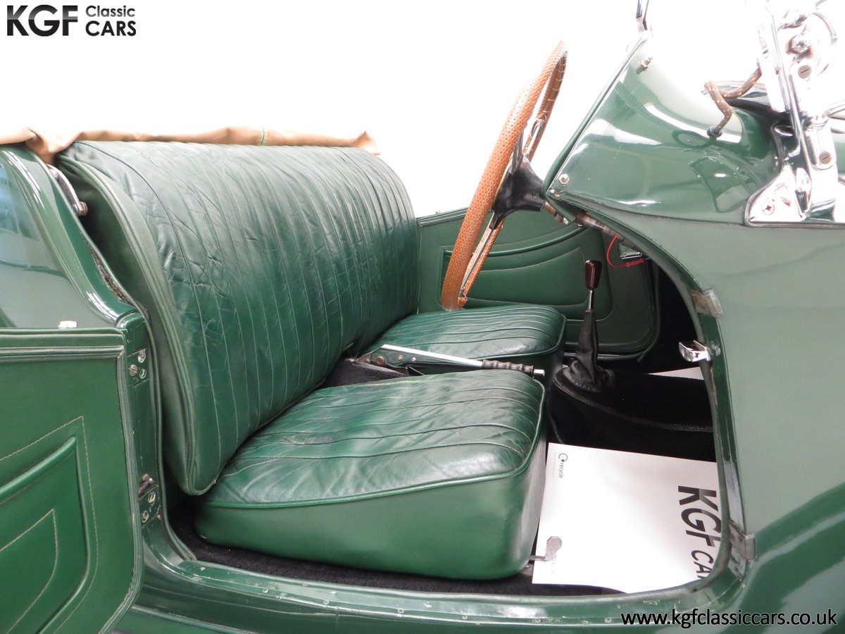 1953 A Classical MG TD Midget, RHD UK Home Market Car For Sale (picture 6 of 6)