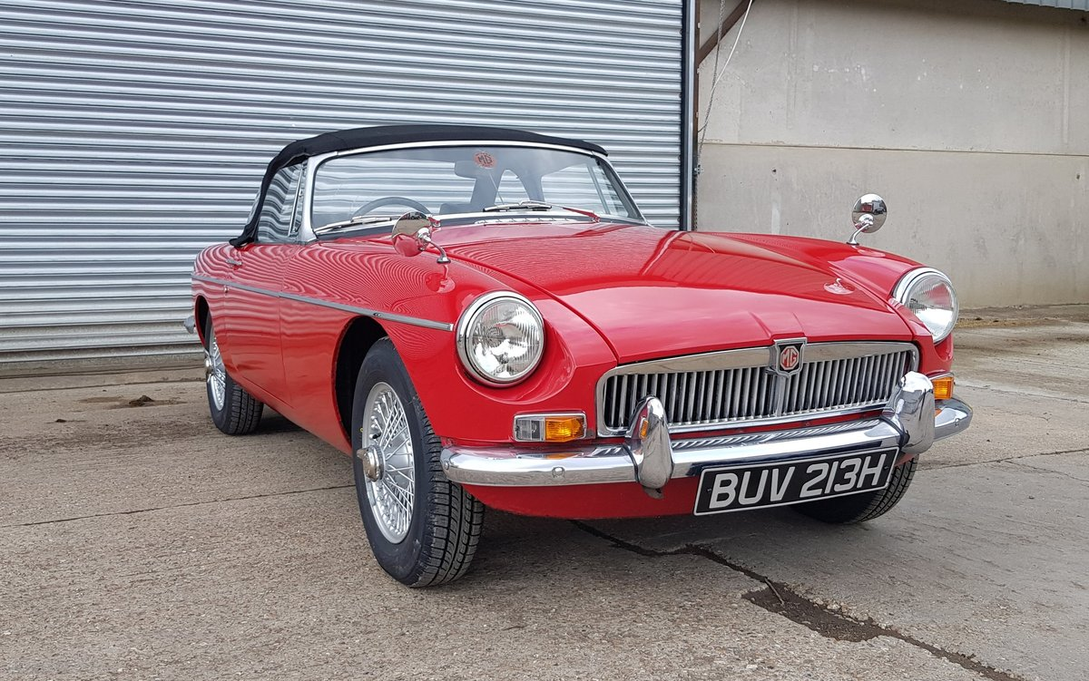 1970 MGB Roadster For Sale (picture 1 of 6)