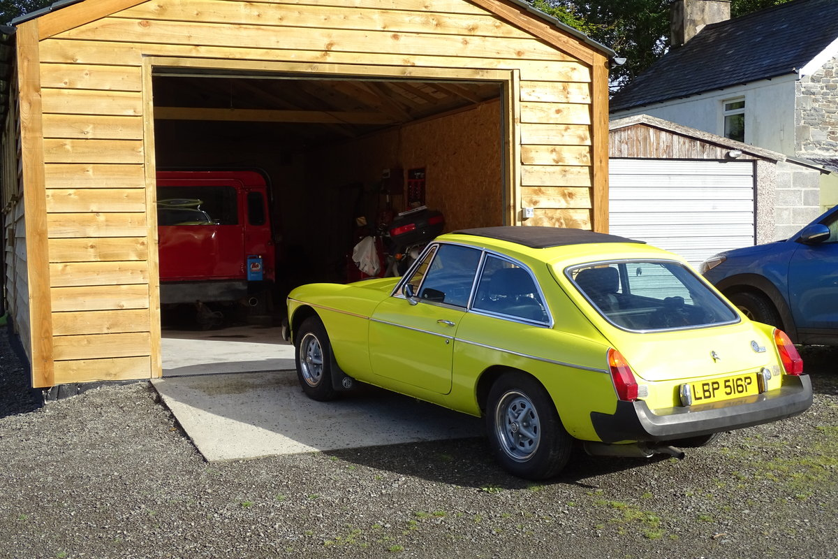 1975 MGB GT Rare opportunity SOLD (picture 2 of 2)
