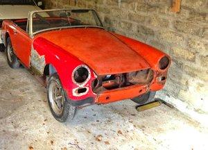 1973 MG Midget 1275 , Round Arches etc, FOR RESTO