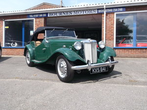 1952 MG TD C (Competition) mk2 RHD For Sale