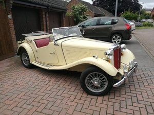 1950 MG TD Just £18,000 - £22,000 For Sale by Auction