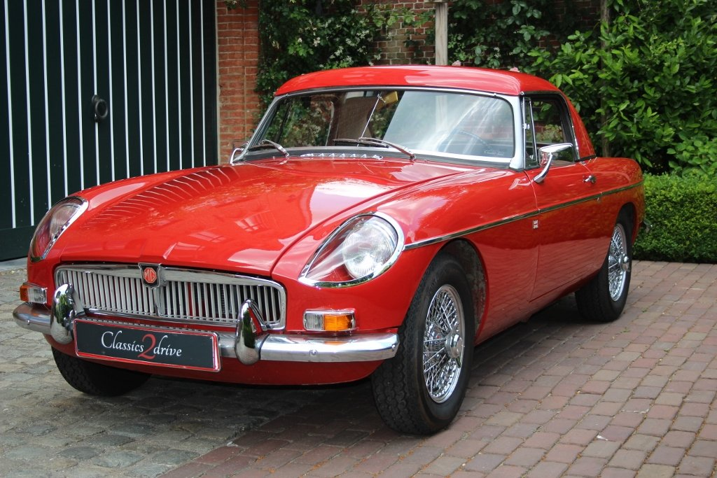 1964 Stunning MG B Roadster with hardtop Jacques Coune Style For Sale (picture 1 of 6)