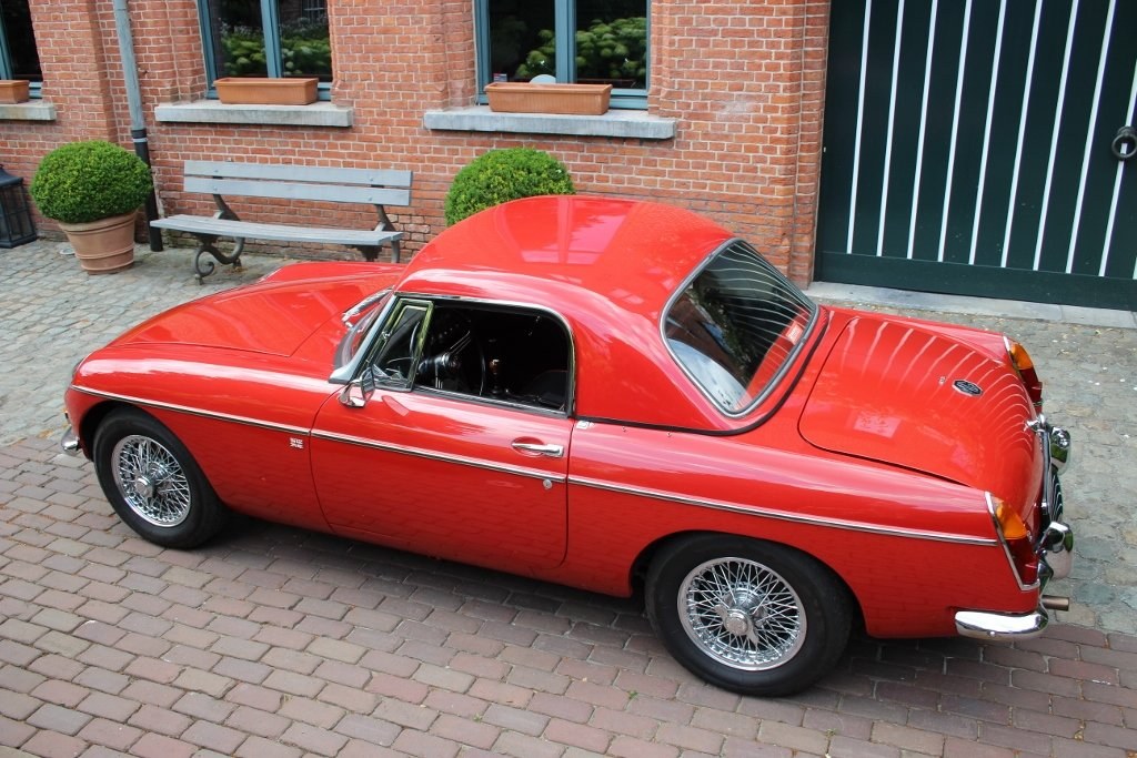 1964 Stunning MG B Roadster with hardtop Jacques Coune Style For Sale (picture 2 of 6)
