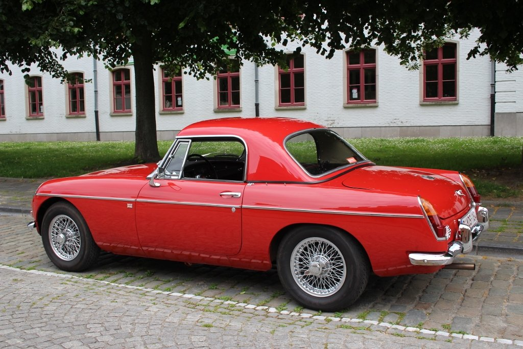 1964 Stunning MG B Roadster with hardtop Jacques Coune Style For Sale (picture 6 of 6)