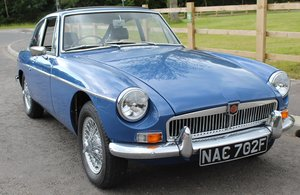 1967 MGB GT MK1 With Overdrive  , Wire Wheels  Webasto Roof For Sale