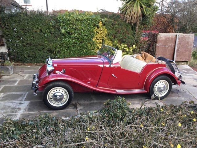 1955 MG TD For Sale (picture 1 of 2)