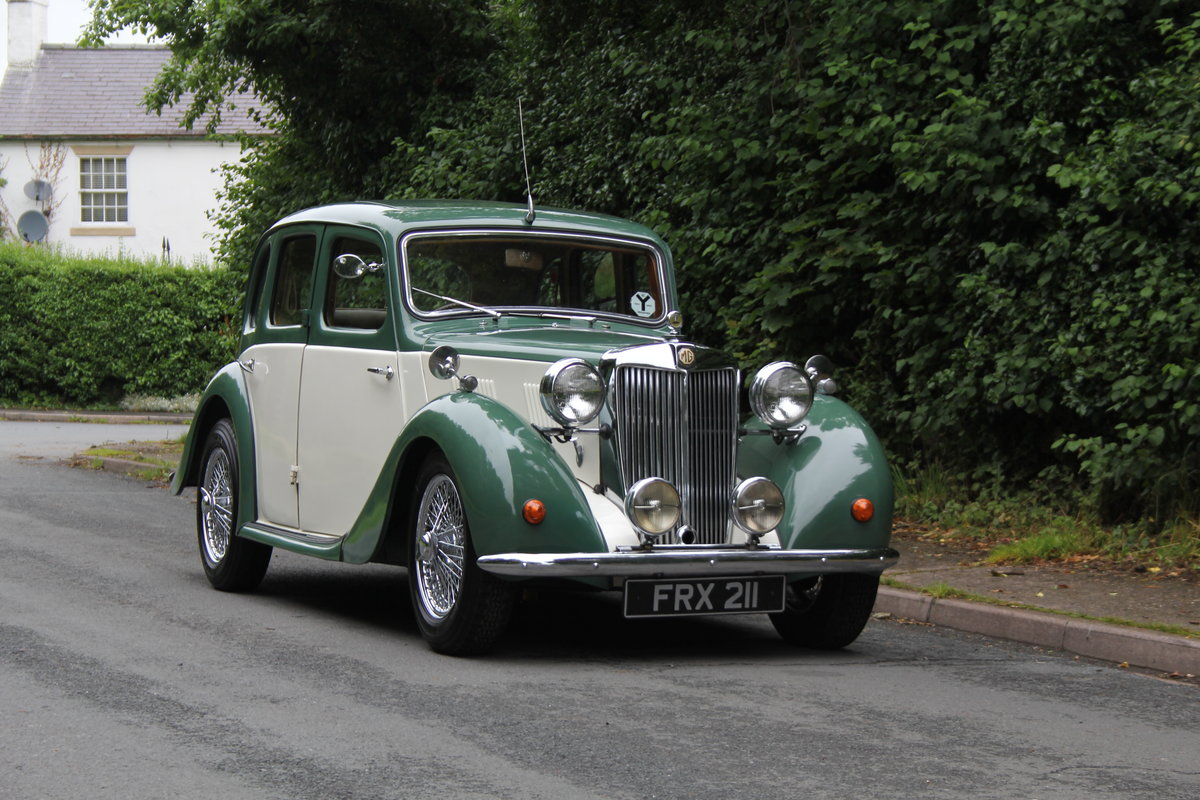 1950 MG YA - 1460cc, 5 speed gearbox, disc brakes and CWW SOLD (picture 1 of 12)