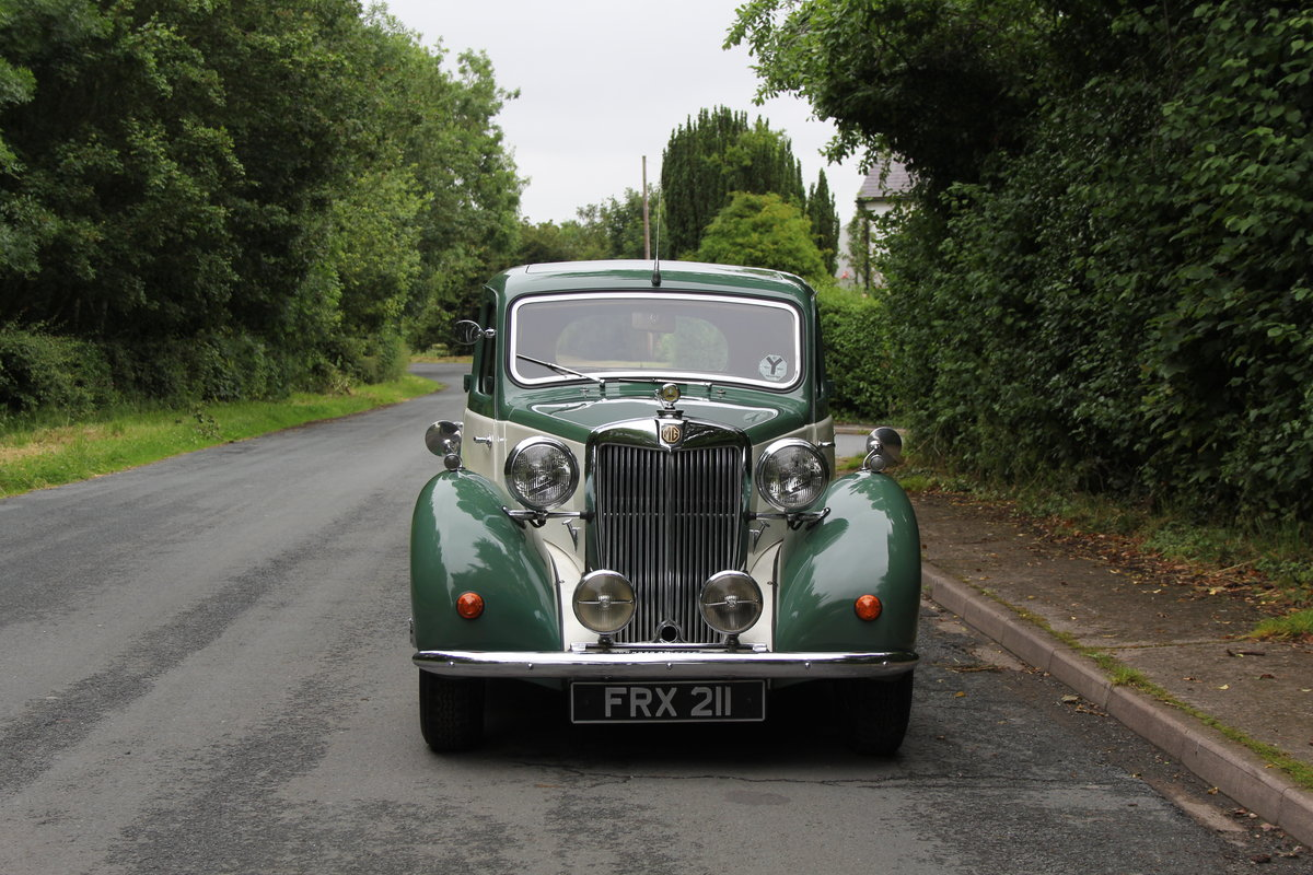 1950 MG YA - 1460cc, 5 speed gearbox, disc brakes and CWW SOLD (picture 2 of 12)