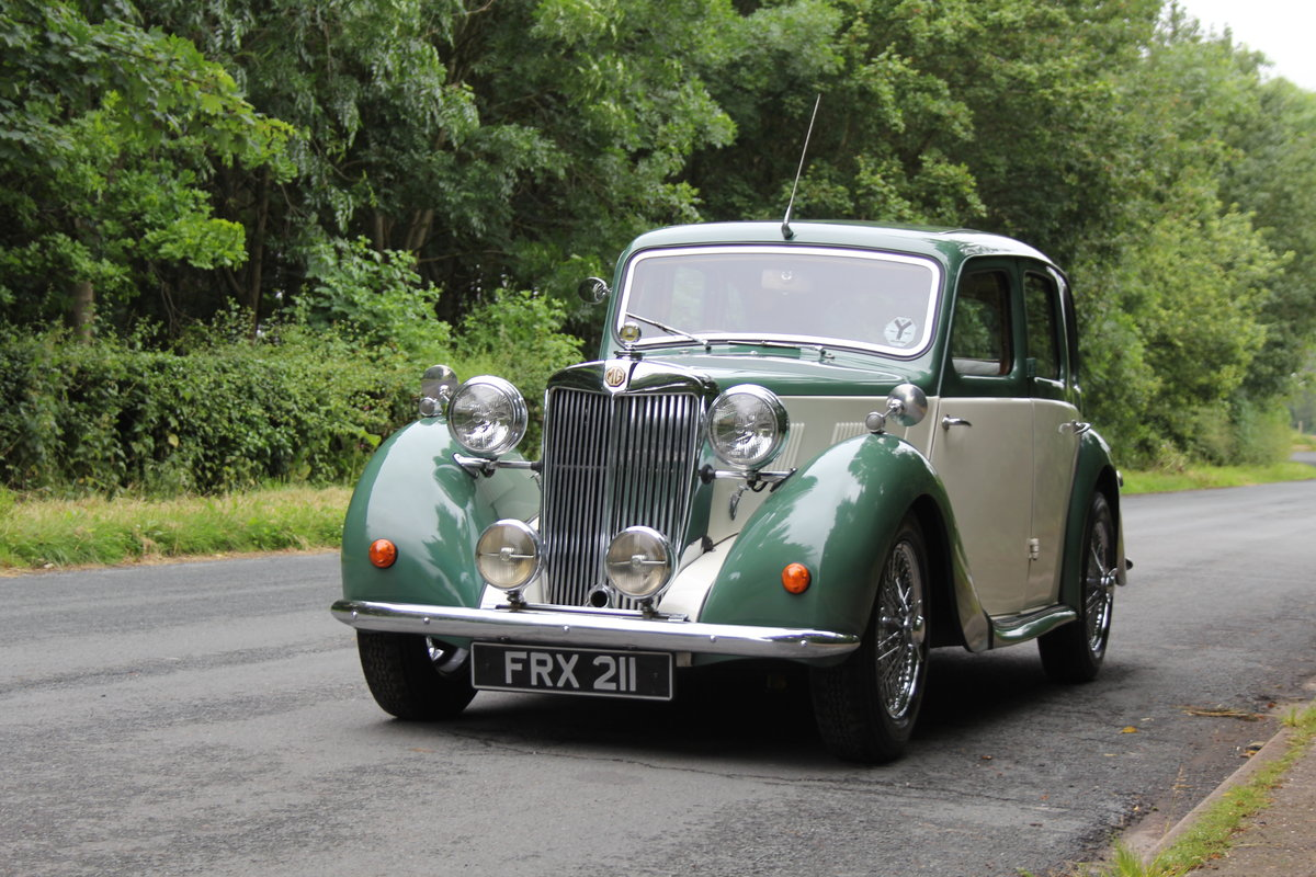 1950 MG YA - 1460cc, 5 speed gearbox, disc brakes and CWW SOLD (picture 3 of 12)