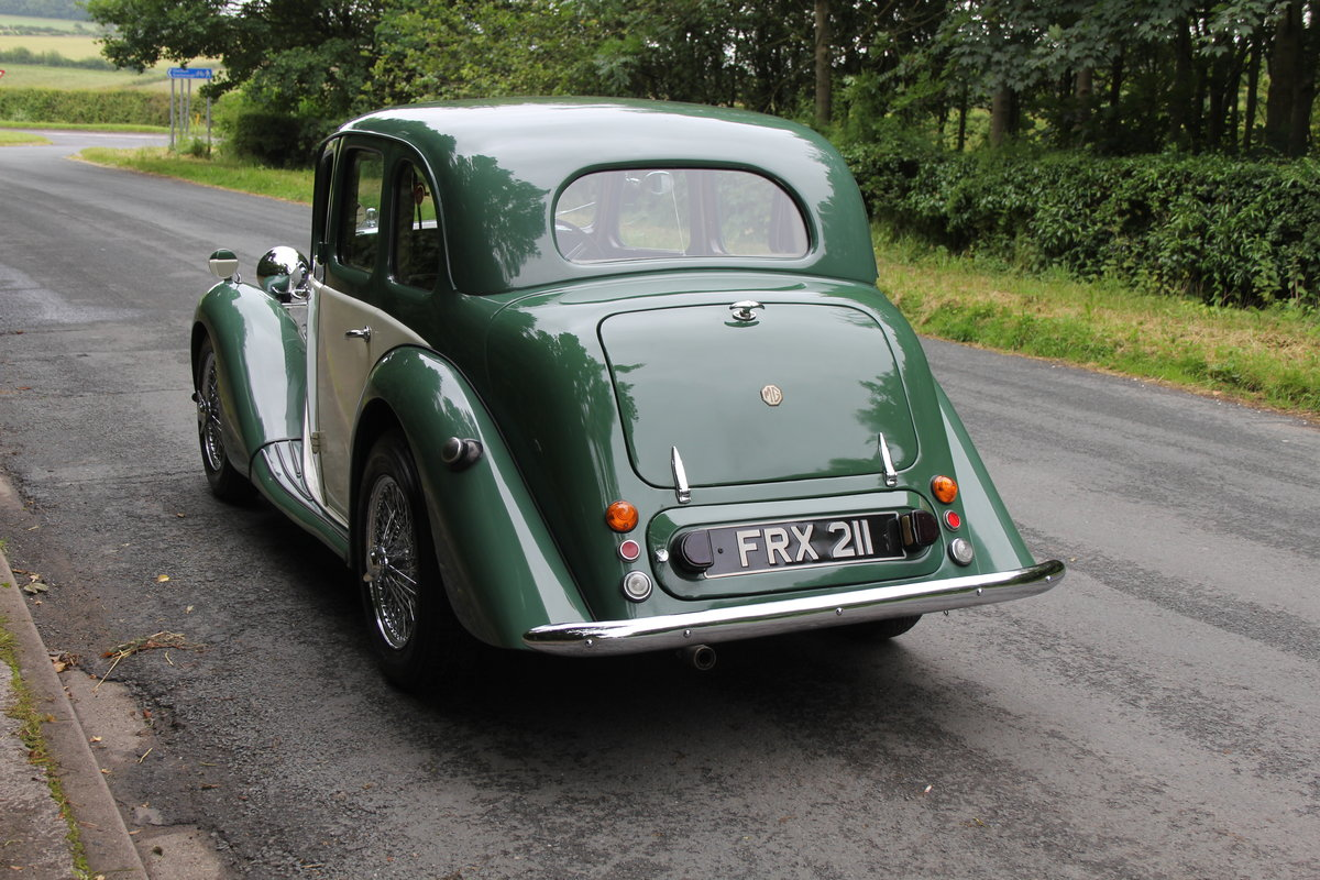 1950 MG YA - 1460cc, 5 speed gearbox, disc brakes and CWW SOLD (picture 4 of 12)