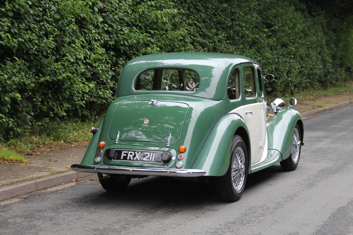 1950 MG YA - 1460cc, 5 speed gearbox, disc brakes and CWW SOLD (picture 5 of 12)