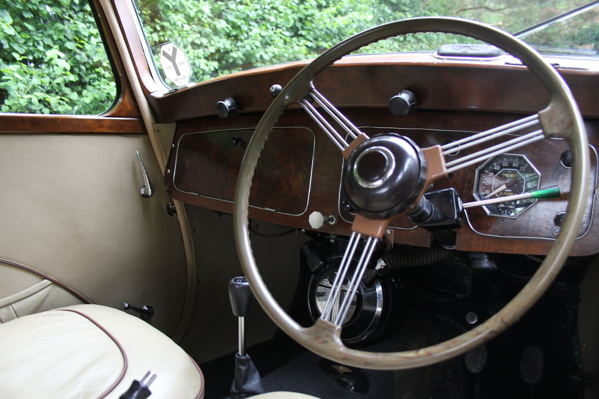 1950 MG YA - 1460cc, 5 speed gearbox, disc brakes and CWW SOLD (picture 7 of 12)