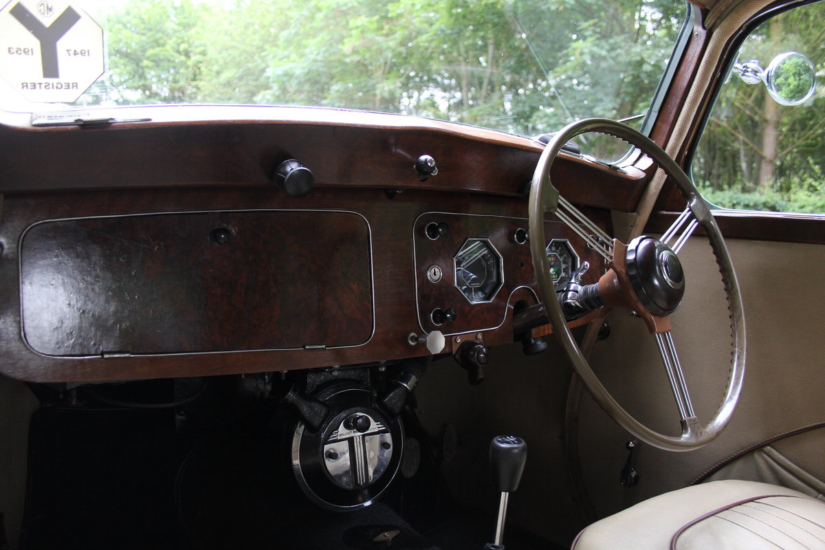 1950 MG YA - 1460cc, 5 speed gearbox, disc brakes and CWW SOLD (picture 9 of 12)