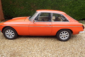1972 MG BGT MK 1, largely original with proof of mileag