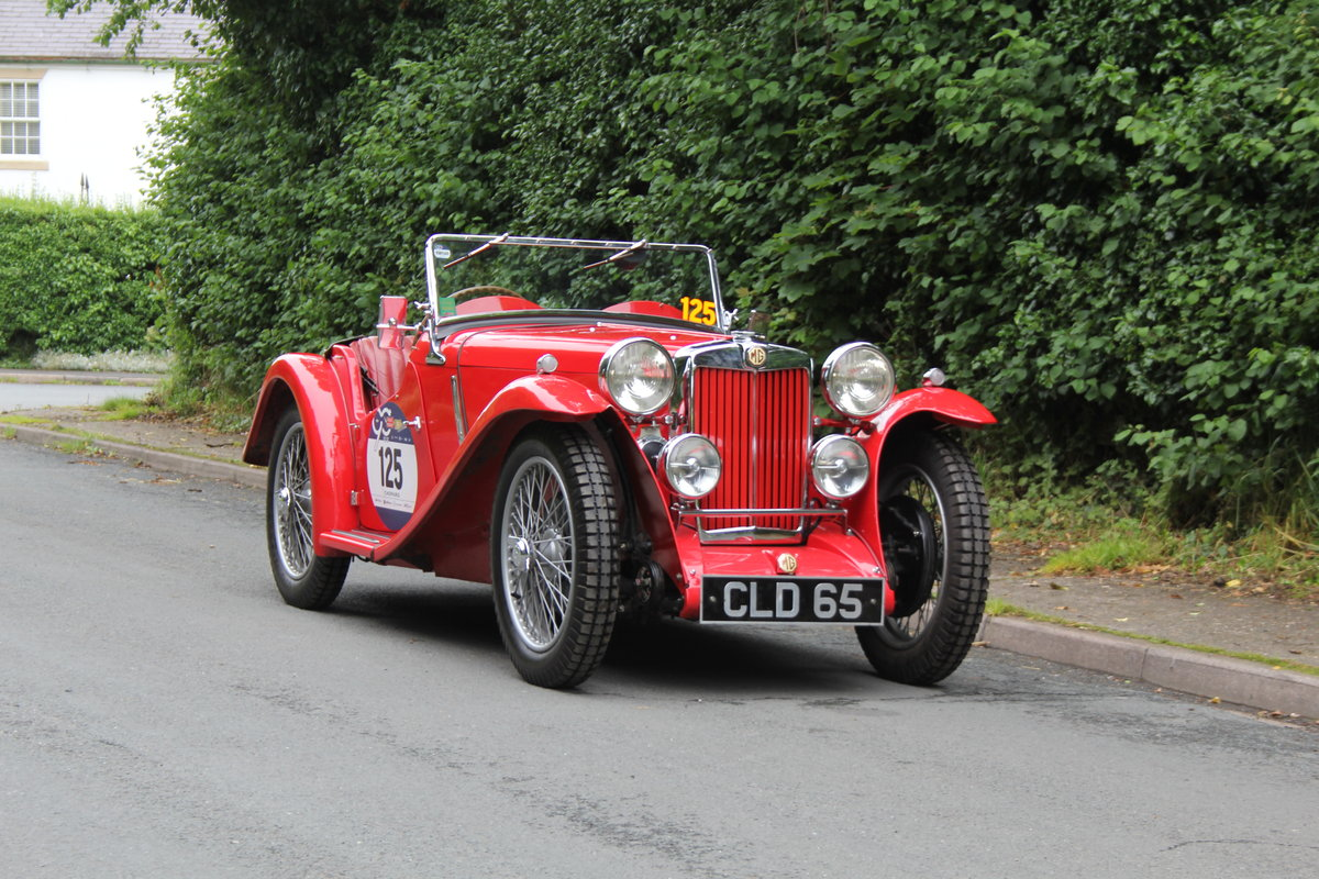 1936 MG PB - 2017 Mille Miglia Entrant & Finisher SOLD (picture 1 of 12)
