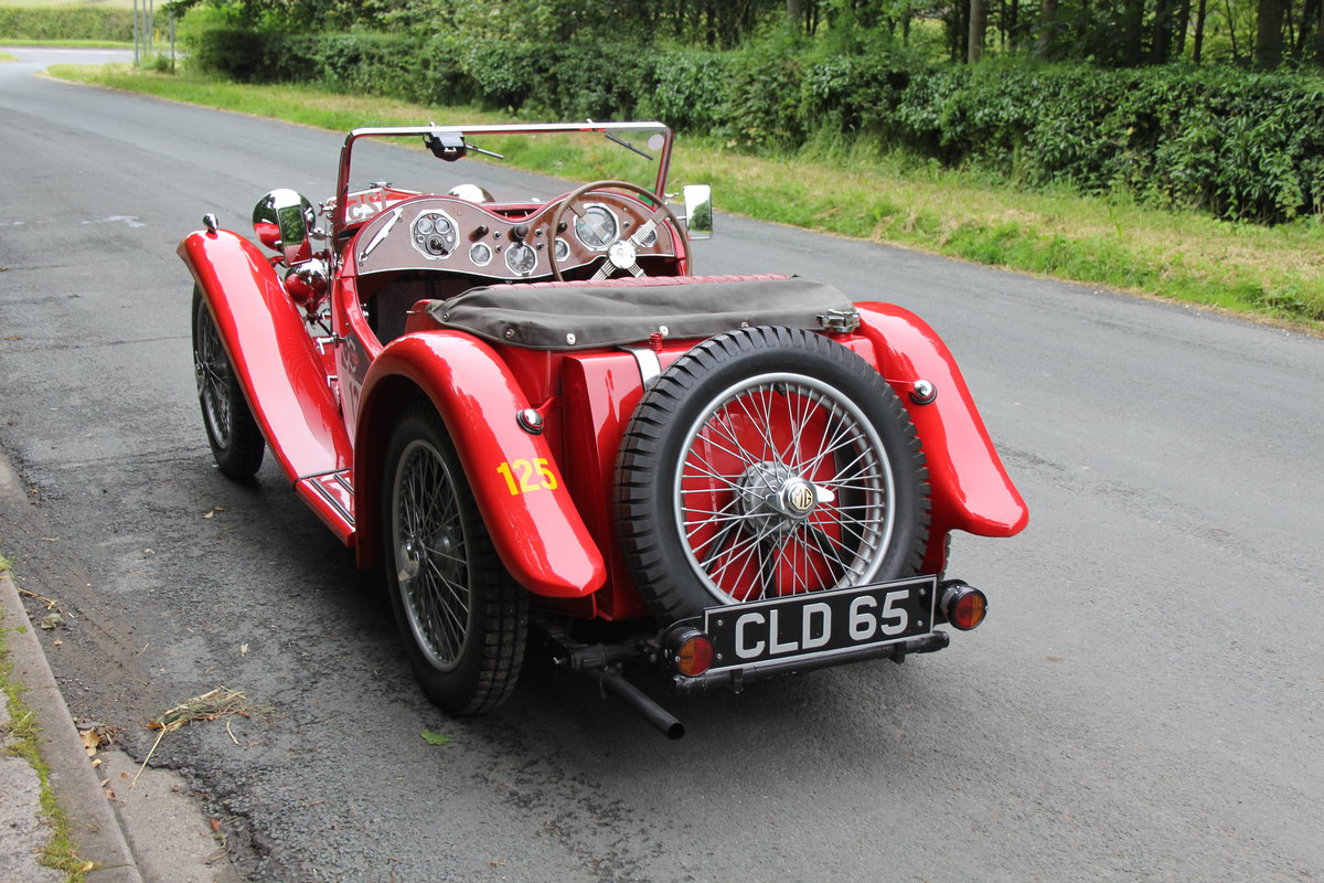 1936 MG PB - 2017 Mille Miglia Entrant & Finisher SOLD (picture 4 of 12)