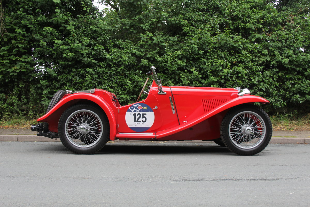 1936 MG PB - 2017 Mille Miglia Entrant & Finisher SOLD (picture 6 of 12)