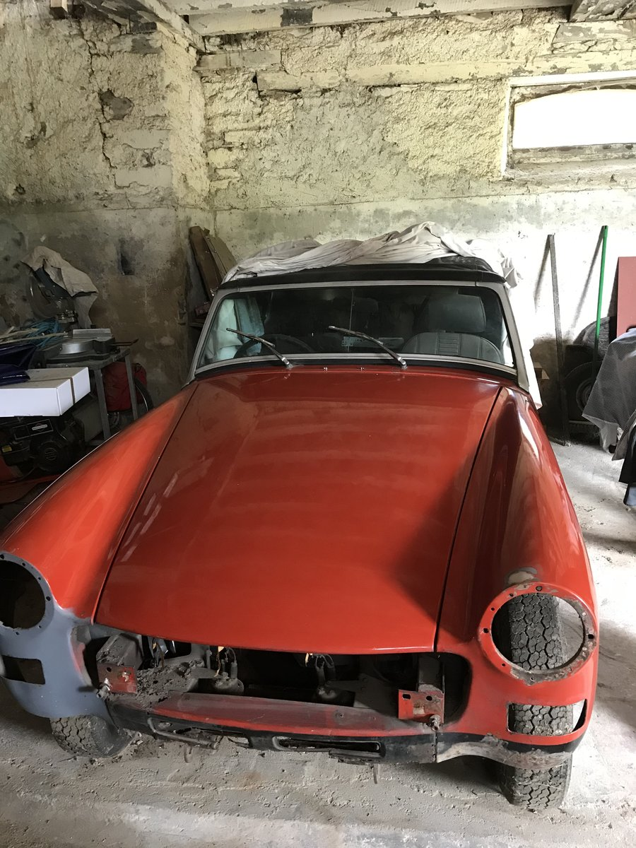 1977 MG Midget 1500 sports For Sale (picture 3 of 3)