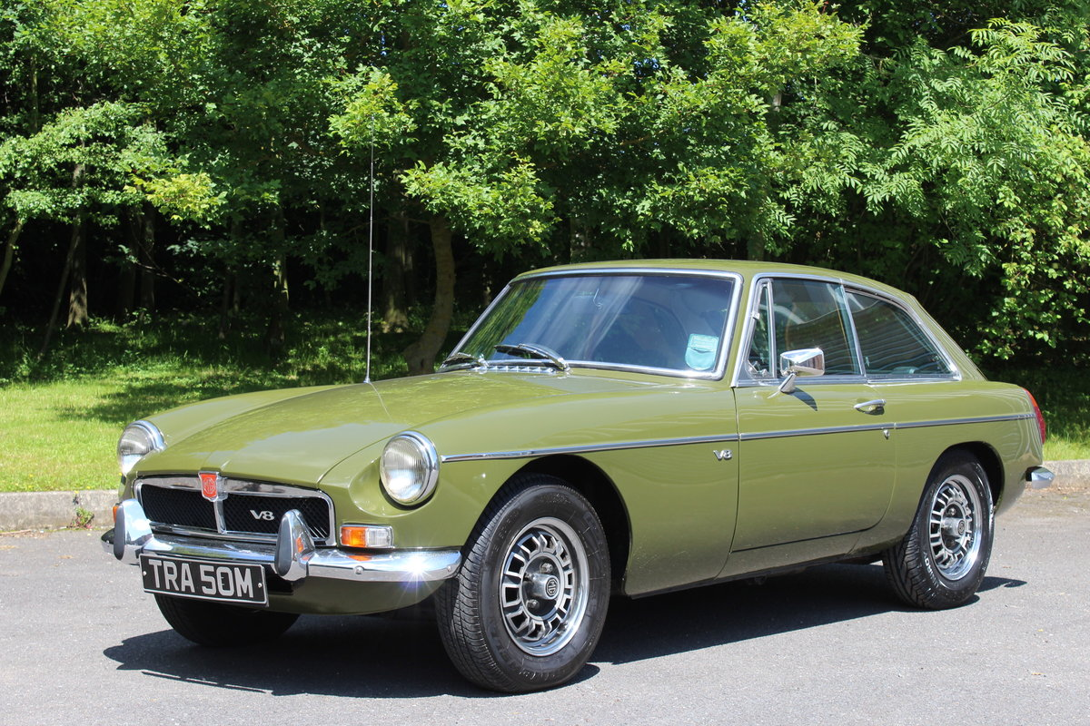 1974 MGB GT V8 For Sale (picture 1 of 6)