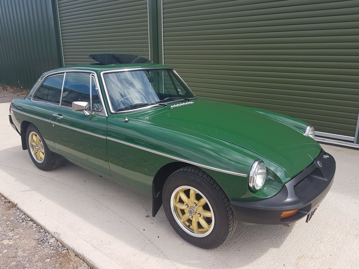 1981 MG MGB GT 1.8 - Previously restored / Low mileage For Sale (picture 1 of 6)