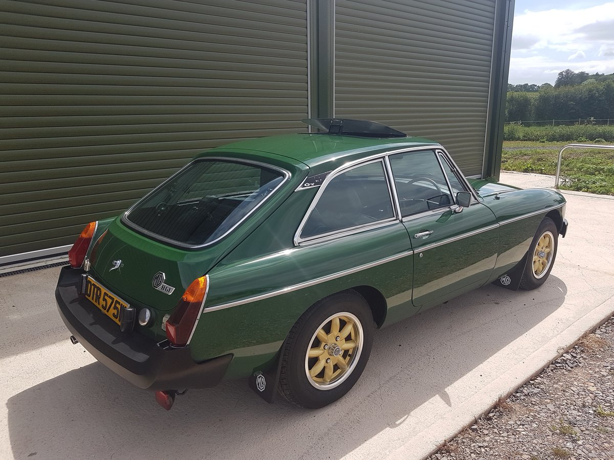 1981 MG MGB GT 1.8 - Previously restored / Low mileage For Sale (picture 2 of 6)