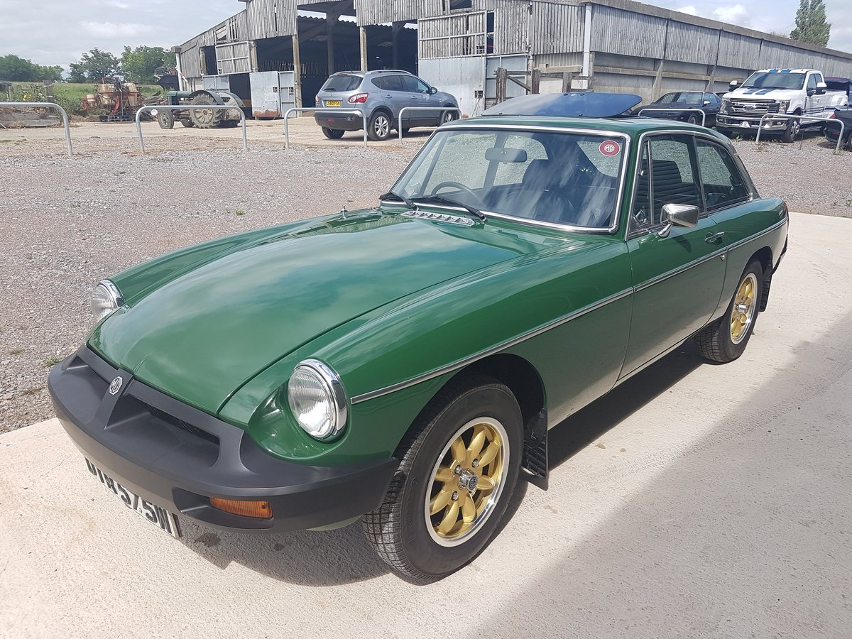 1981 MG MGB GT 1.8 - Previously restored / Low mileage For Sale (picture 4 of 6)