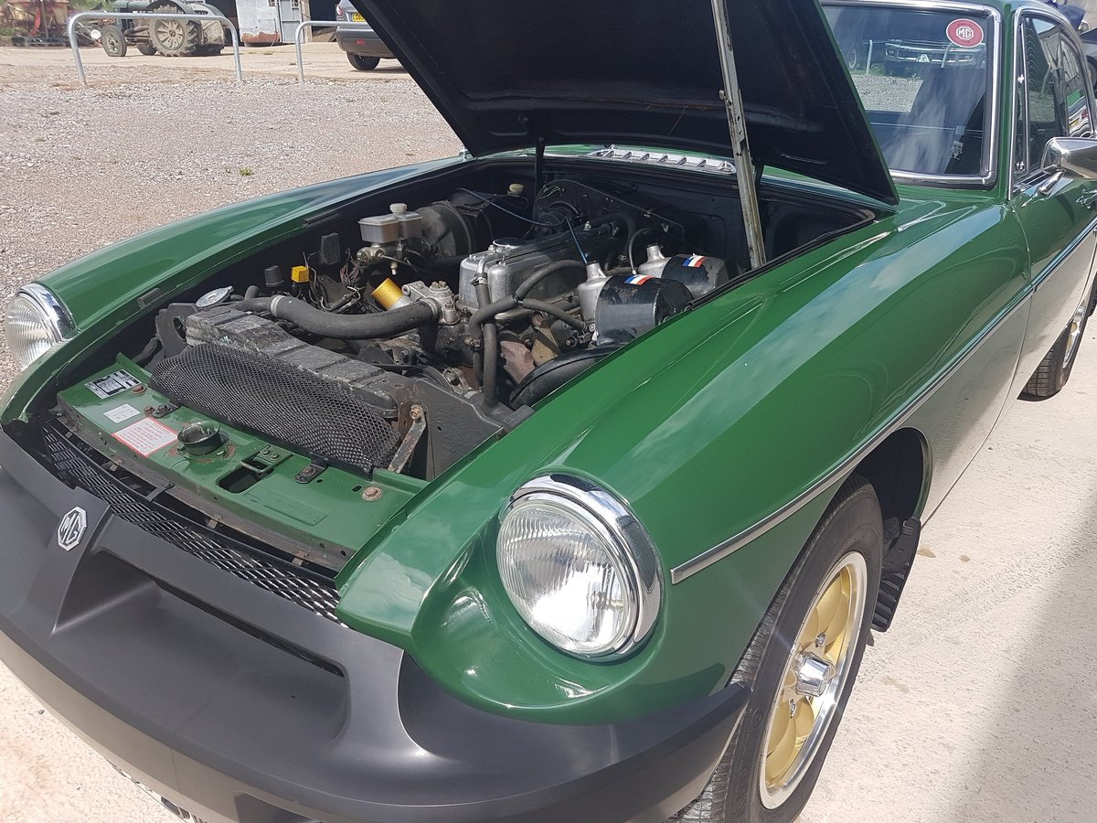 1981 MG MGB GT 1.8 - Previously restored / Low mileage For Sale (picture 5 of 6)