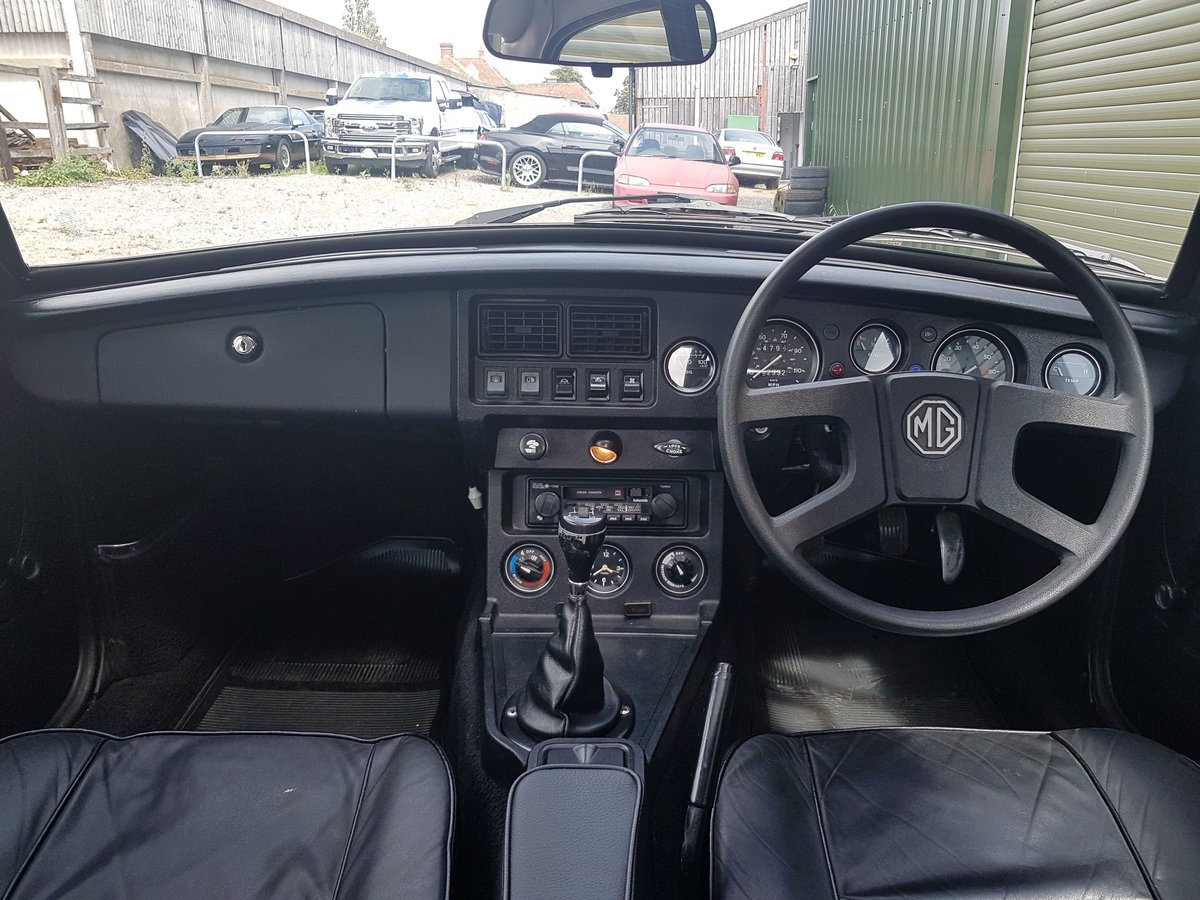 1981 MG MGB GT 1.8 - Previously restored / Low mileage For Sale (picture 6 of 6)