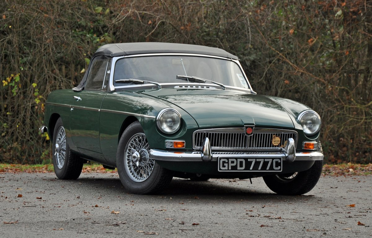1965 MGB Roadster, Restored with Heritage Shell SOLD (picture 1 of 6)