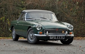 1965 MGB Roadster, Restored with Heritage Shell For Sale