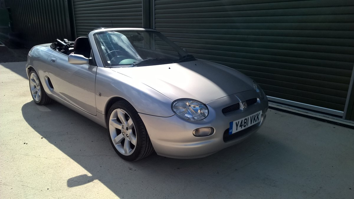 2001 ROVER MG F V.V.C. 143hp For Sale (picture 1 of 6)