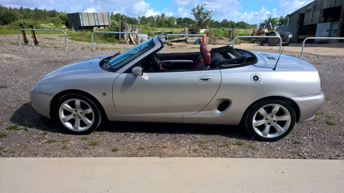 2001 ROVER MG F V.V.C. 143hp For Sale (picture 4 of 6)