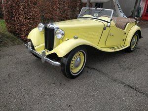 1954 MG TD '54  SOLD