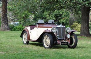 1936 MG NA MAGNETTE SPORTS For Sale by Auction
