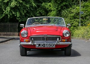1968 MG C Roadster SOLD by Auction