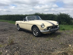 1973 MGB GT Chrome Bumper Roadster - Free Delivery - LHD Option  For Sale