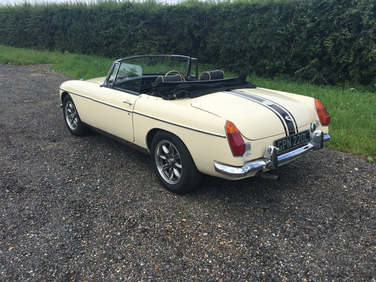 1973 MGB GT Chrome Bumper Roadster - Free Delivery - LHD Option  SOLD (picture 4 of 6)