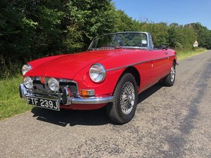 1971 mgb roadster rebuilt on new heritage shell For Sale
