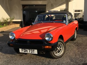 1979 MG Midget 1500 - AMAZING 22,780 MILES - 2 OWNERS For Sale