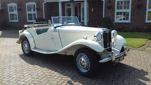 1952 Fully restored MG TD  For Sale