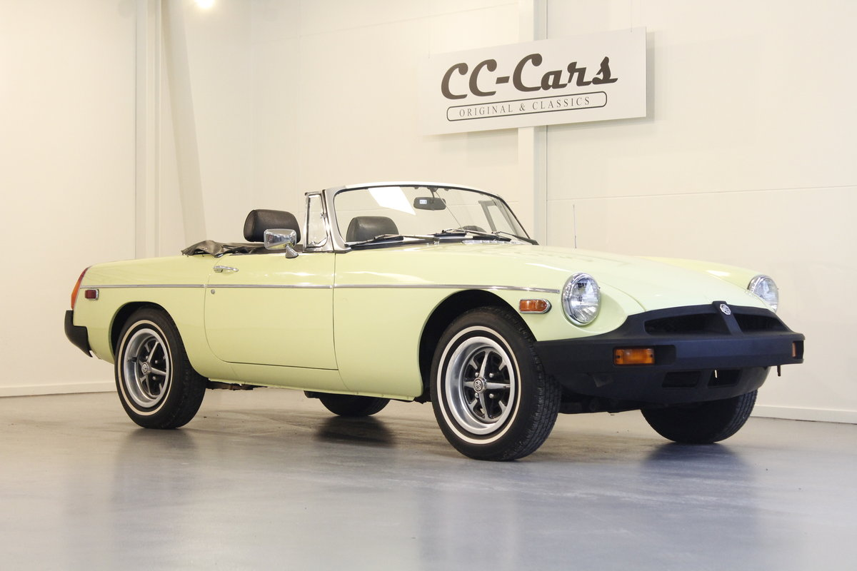 1977 MG B 1.8 - Many accessories  For Sale (picture 1 of 6)