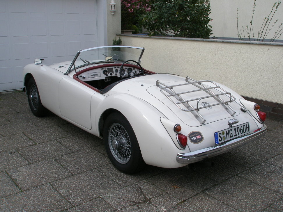1960 MGA 1600 Roadster excellent throughout and reliable For Sale (picture 2 of 6)