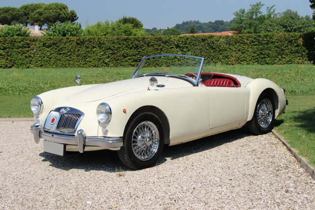 1957 MGA Roadster LHD SOLD (picture 1 of 6)