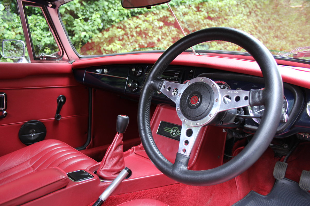1976 MGB Roadster - 6500 Miles since restoration  For Sale (picture 7 of 12)